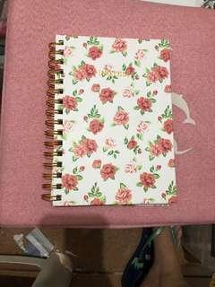 Notebook floral