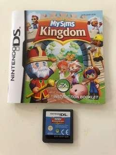 Nintendo DS EA My Sims Kingdom Game