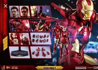 Iron man mark 4 diescast