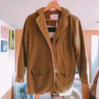🚚 Loveis香港潮牌休閒小惡魔口袋軟綿休閒西裝外套