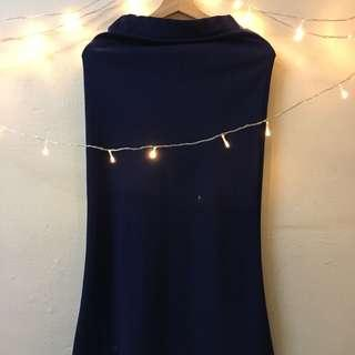 Long Skirt : Blue Color