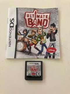 Nintendo DS Disney Ultimate Band Game