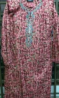 Baju kurung pesak cotton
