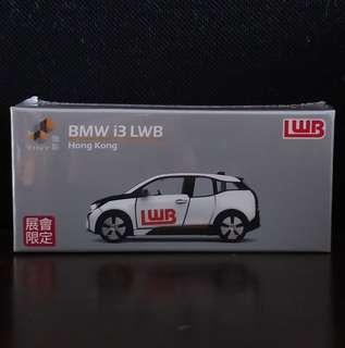 全新Tiny展會限定龍運LWB寶馬I3巡邏車仔模型 九巴 非Tomica