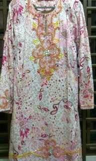 #SBUX50 Baju kurung pahang cotton