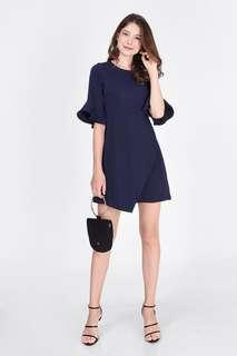 Fayth Erissa Flare Sleeve Dress