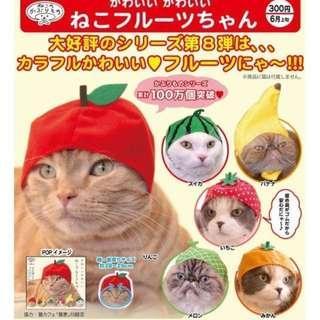 奇譚 kitan 貓帽扭蛋 水果篇 蜜瓜