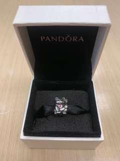 (Hold)Pandora Charm 招財貓
