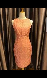 Warehouse brocade open back dress #sbux50