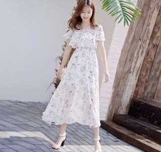 BN korean ulzzang floral dress