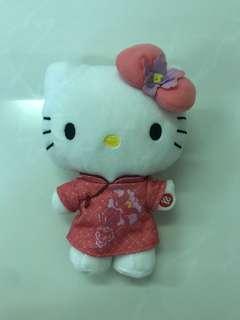 Hello Kitty plush toy Chinese sg50
