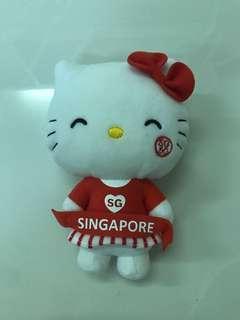 Hello Kitty Plush Toy cheerleader sg50