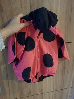 Lady bug costume carters