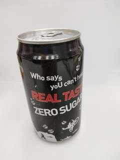 可囗可樂 零系 全零條瑪 特别紀念版 Coca Cola Coke Zero All zero barcode Special Edition 355ml