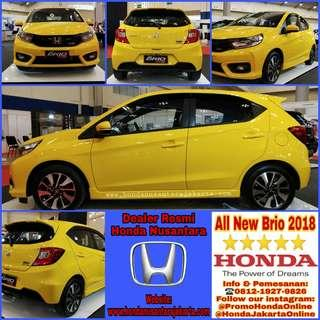 All New Honda Brio 2018