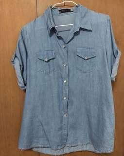 BN Washed out Denim top/ dress