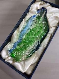 Map of taiwan paperweight
