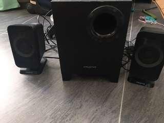 (UK)Creative T3150  2.1 speaker whole set