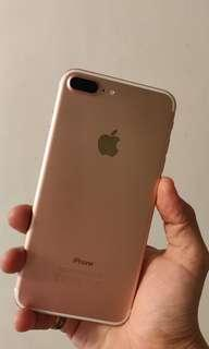 IPhone 7+ rose gold 32gb for sale