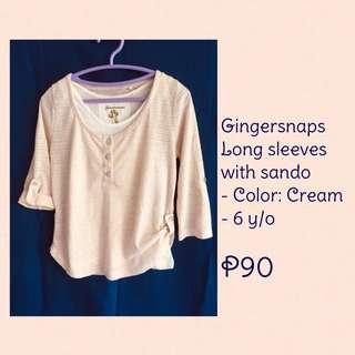Gingersnaps long sleeves