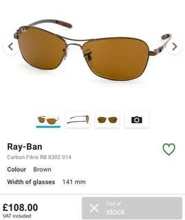Ray ban RB 8302 ORIGINAL 100%
