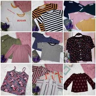 SALE ITEMS (all below 150php)