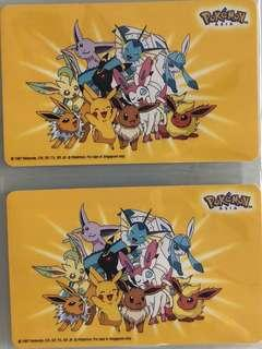 Limited edition brand new Pokémon Asia design Ezlink card for sale.