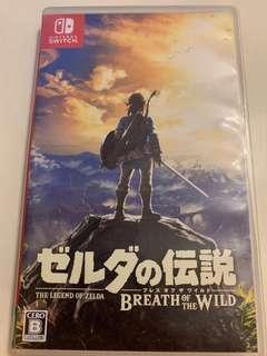 Switch 薩爾達傳說 日本版