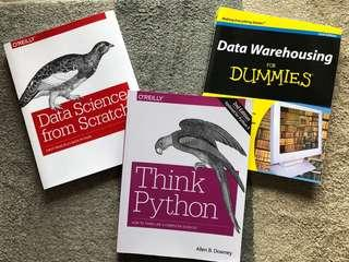 Book Bundle (3 Books): Data Science, Data Warehousing