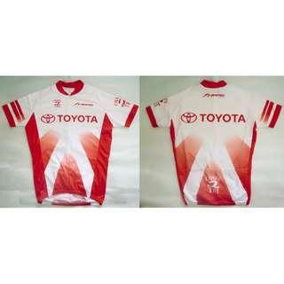 ~~~ NEVER USED ToYoTa CyCLing Jersey/ Shirt SiZe M (Very Tight Fit) $20~~~