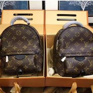 Louis Vuitton Backpack Palm springs mini