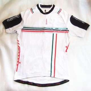 ~~~ MinT CoND AMC CyCLing / BiCyCLe  Jersey/ Shirt SiZe L (white) $48~~~