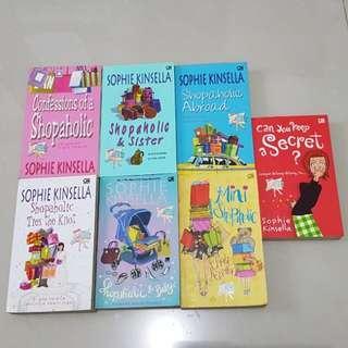 Sophie kinsella novels @28,000