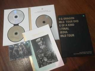 G-Dragon's 2013 World Tour DVD One of A Kind