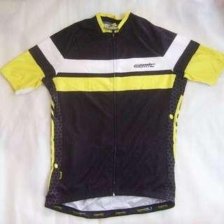 ~~~ SPoTLe$$ ConD AMC CyCLing / BiCyCLe  Jersey/ Shirt SiZe L (Black) $48 ~~~