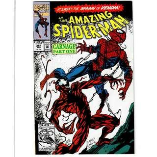 Marvel Comics Amazing Spider-Man #361 362 363 First Appearance of Carnage Venom VF/NM