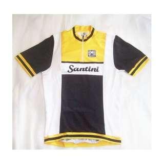 ~~~ RaRe & BeauTiFuL SanTiNi  CyCLing / BiCyCLe  Jersey/ Shirt SiZe L $48~~~