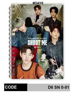 [PREORDER] DAY6 NOTEBOOK
