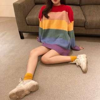 ✨PREORDER✨ Rainbow pullover