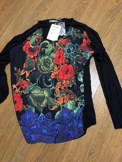 Desigual flowery blouse