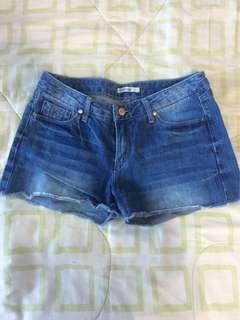 Stradivarius jean shorts