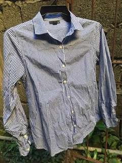 Plaid women's top / blouse