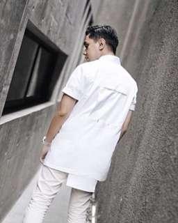 White shirt Danjyo Hiyoji