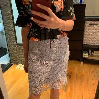 Korea lace skirt