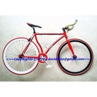 ~~~NeGoTiaBLe dis  $uPeR Da$hinG CusTom 10kg Fixie BiCyCLe /Bike ~~~
