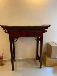 Rosewood Altar table