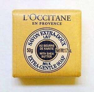L'occitane En Provence Extra Gentle Milk Soap 50g Loccitane France Bar Body Face Wash