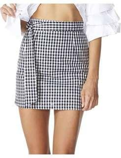 Lioness Last Dance gingham mini skirt size 6