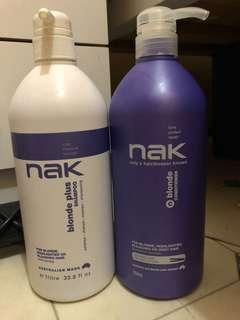 Nak Blonde Plus Shampoo & Conditioner