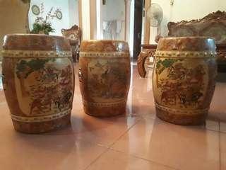 Guci keramik 3 set